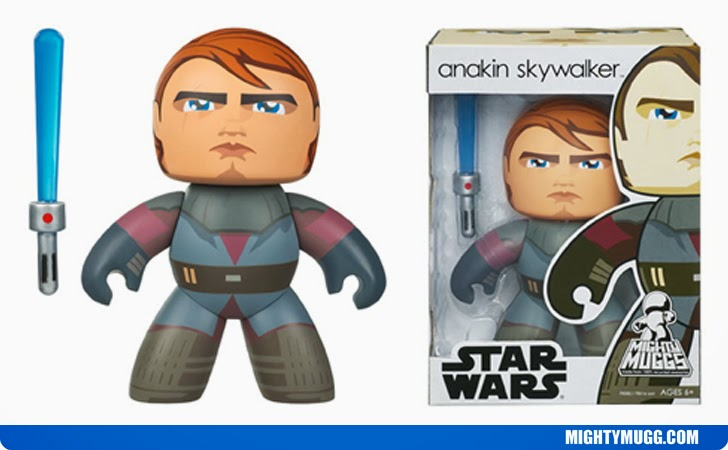 Anakin Skywalker Star Wars Mighty Muggs Wave 5