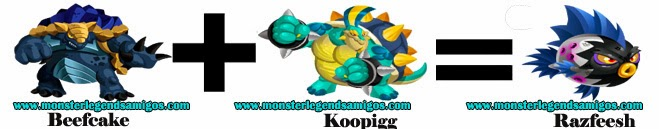 como obtener el razfeesh en monster legends formula 3