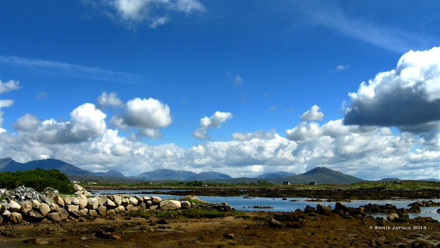 mountains, ocean, Roundstone © Annie Japaud Photography