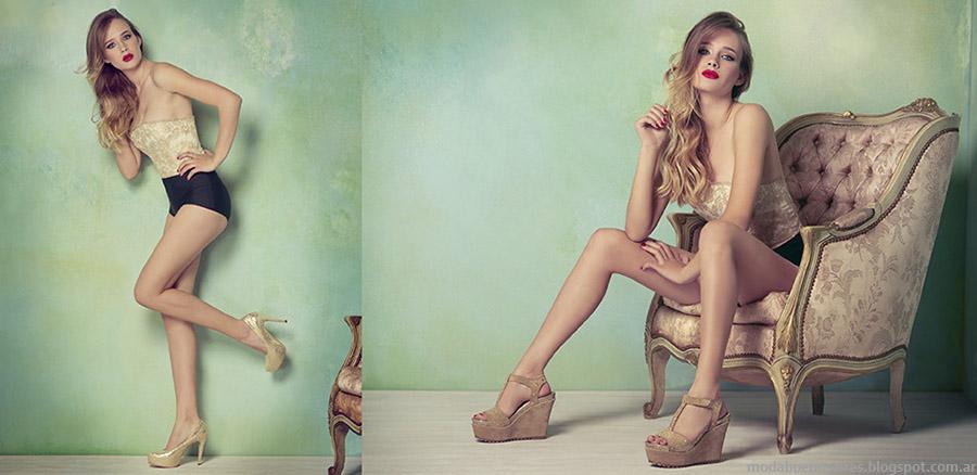 Lady Stork primavera verano 2015 zapatos y sandalias.