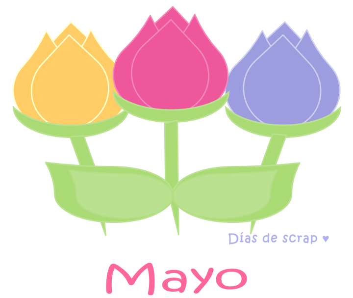 freebie imprimible gratis calendario mes de mayo