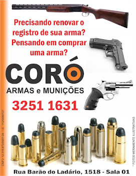 Quer comprar arma ou munies?