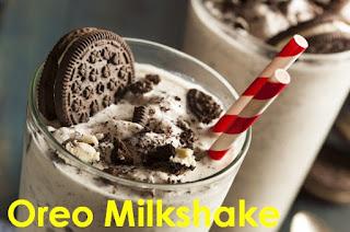 cara membuat oreo milkshake tanpa blender