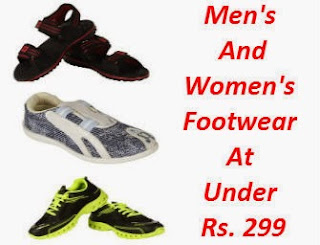 Buy Men's And Women's Footwear At Under Rs. 225 only