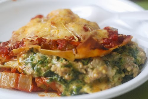 weight watchers vegetarian lasagna