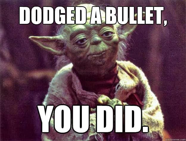 plan  day  dodged  bullet