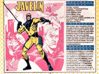 Jabalina (ficha dc comics)