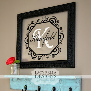 Family Vinyl Wall Monogram