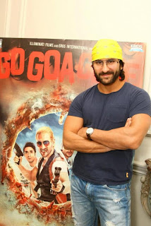Saif Ali Khan in London for #GoGoaGone's Press Conference
