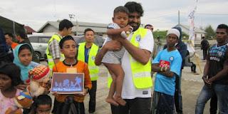Muslim Pakistan di Inggris Bantu Pengungsi Rohingya