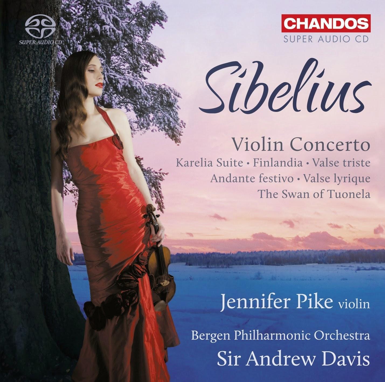 Sibelius Violin Concerto = Chandos CHSA 5134