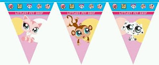 Decoracion de Littlest Pet Shop para Fiestas Infantiles