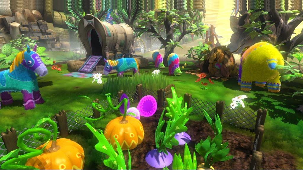 Viva pinata screenshot garden horse bear pumpkins
