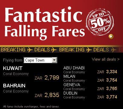 tickets deals prices fares
