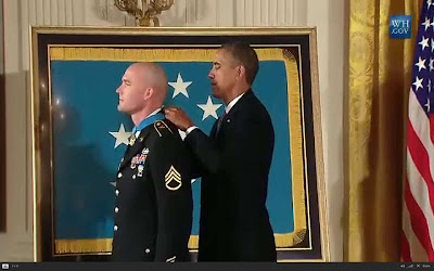 Afghanistan, Staff Sgt. Ty M. Carter, Medal of Honor, U.S. Army, President Obabma, White House