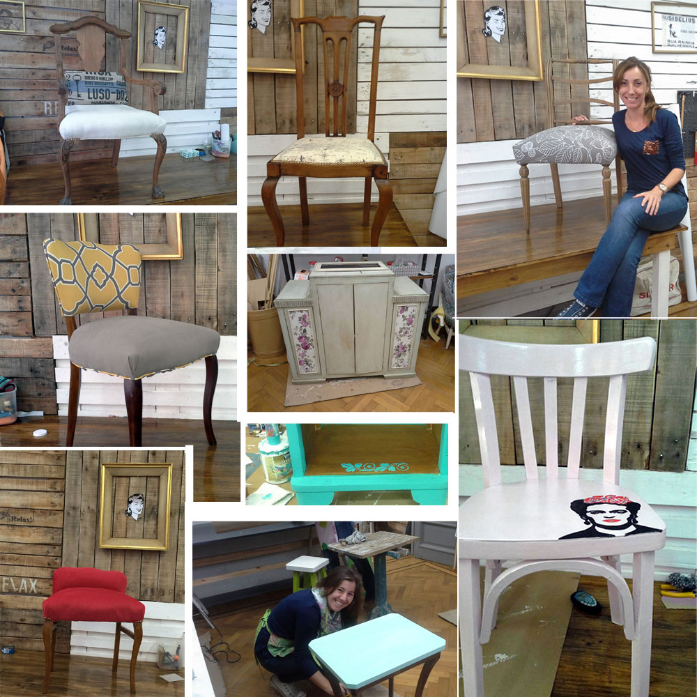 Cuchita bacana talleres de reciclado de muebles y tapicer a - Talleres de tapiceria ...