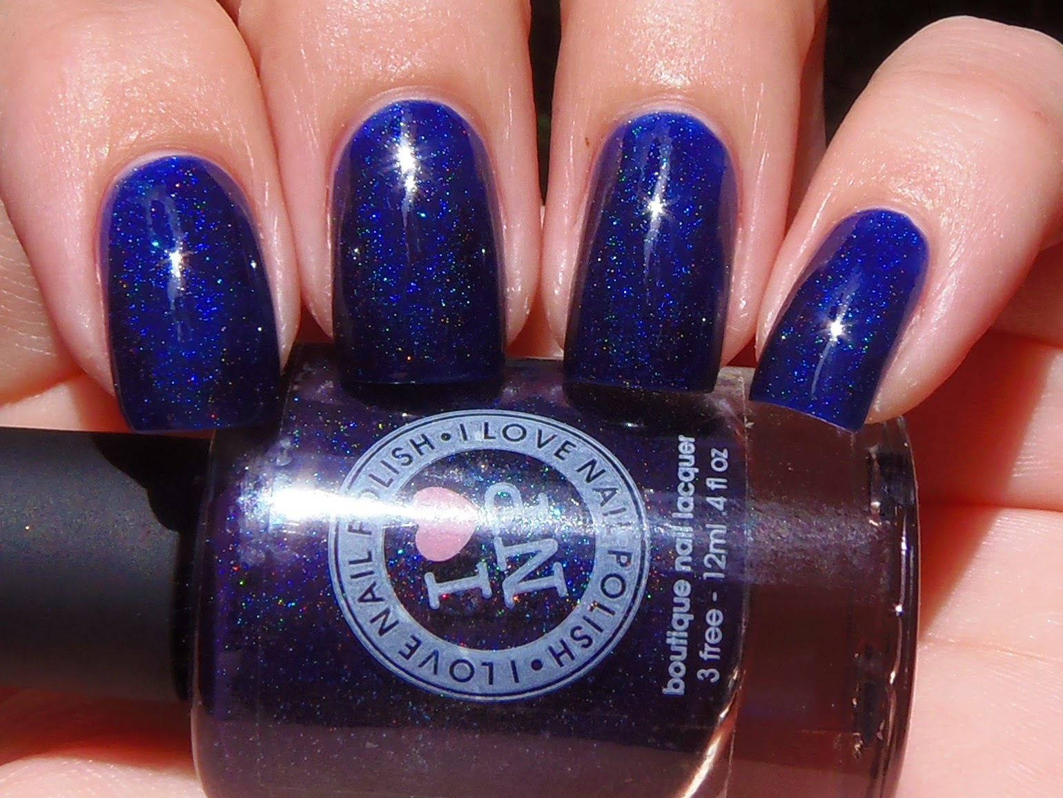 Sparkly Vernis: I Love Nail Polish Royal Rainbow is a navy blue ...