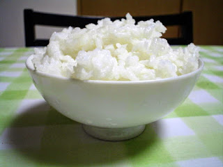 White rice for health benefits