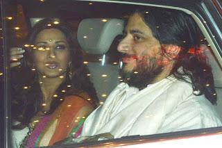 Diwali celebration at Amitabh Bachchan House
