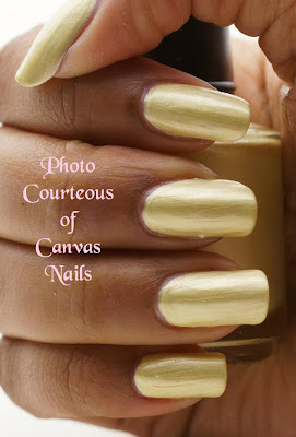 Canvas Nails Spring Sunrise Nail Polish