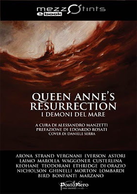 Queen Anne's Resurrection. I Demoni del Mare, copertina