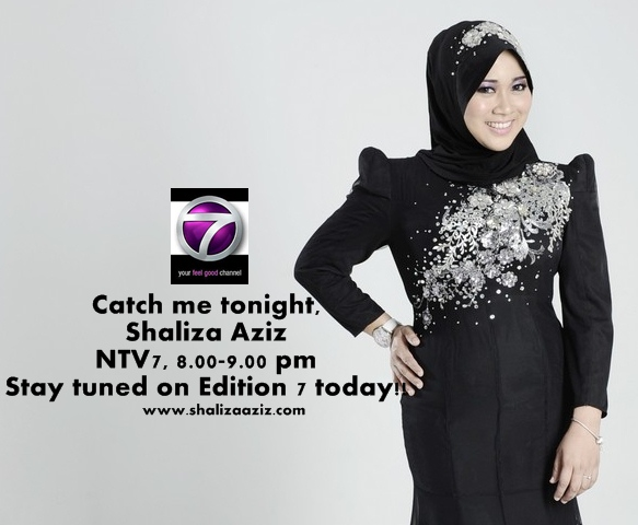 Shaliza Aziz in Edition 7, NTV7