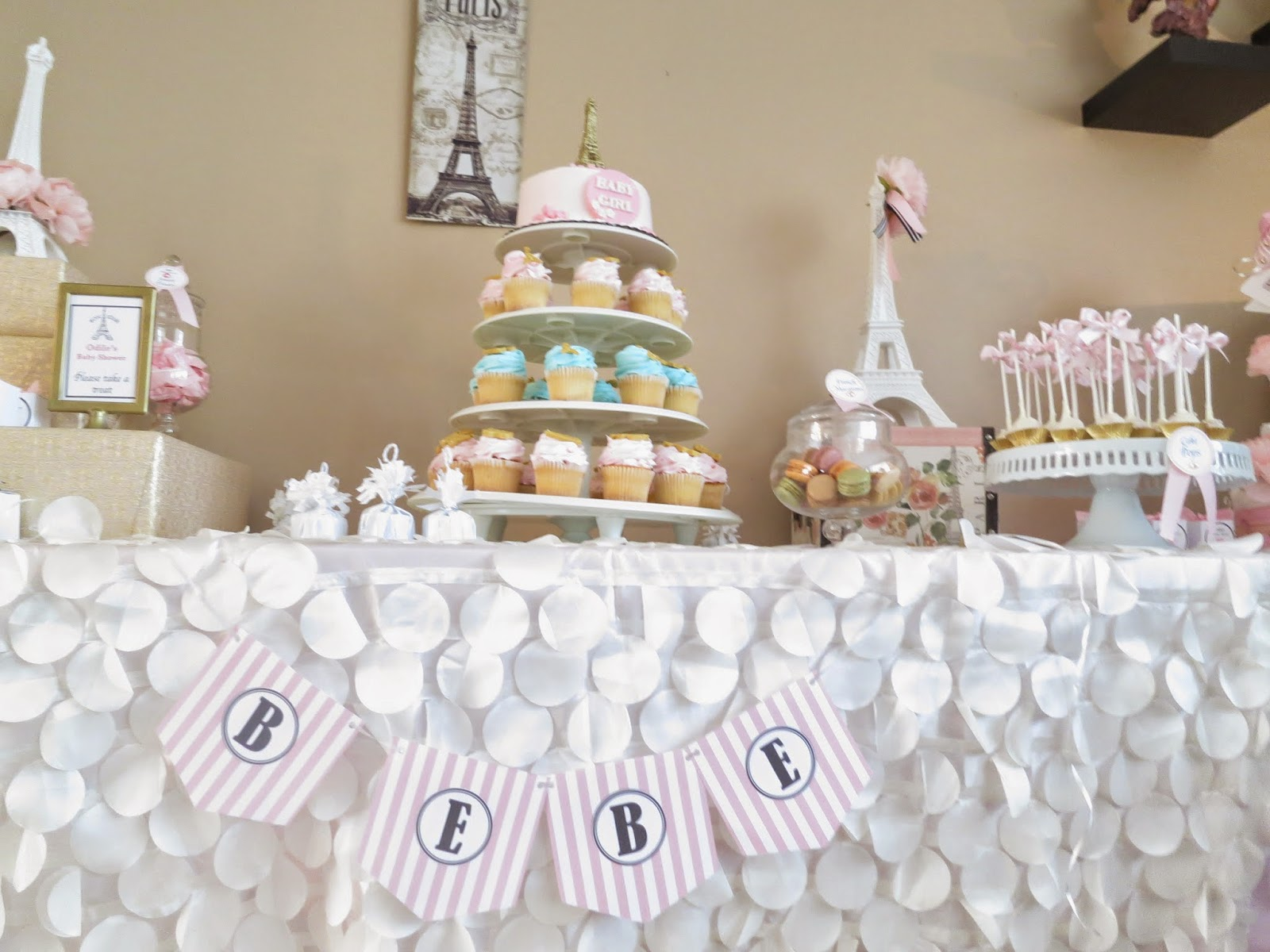 simplyiced party details paris themed baby shower