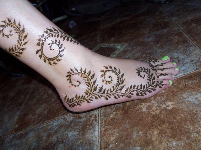 Good Mehendi Designs For Feet  Mehendi Designs