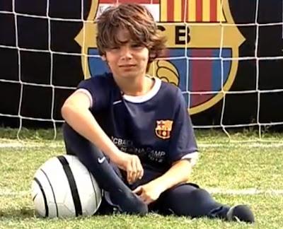 Niño sin pies es el último refuerzo del Barcelona