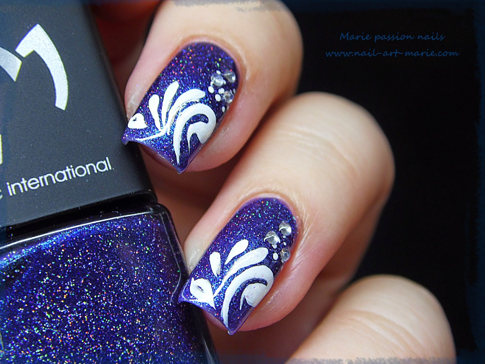 Nail Art gouttes sur Magie (G)4
