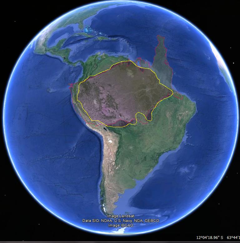 habitantes de la amazonia: