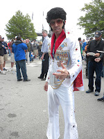 Even Indy Elvis attended Carb Day!