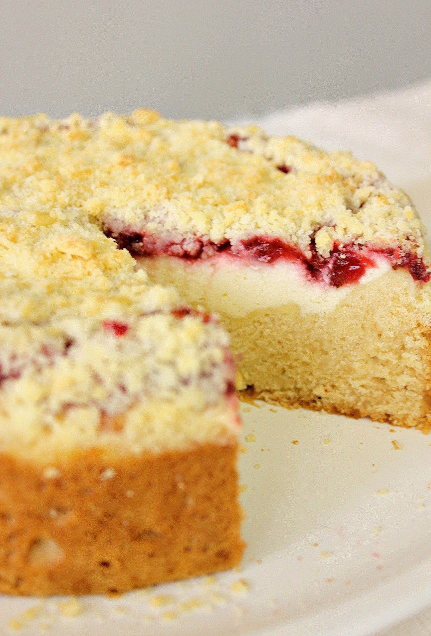 Food Wanderings : Strawberry Cream Cheese Coffee Cake