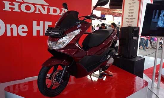 New Honda PCX 150 Resmi Meluncur di Jakarta Fair 2014