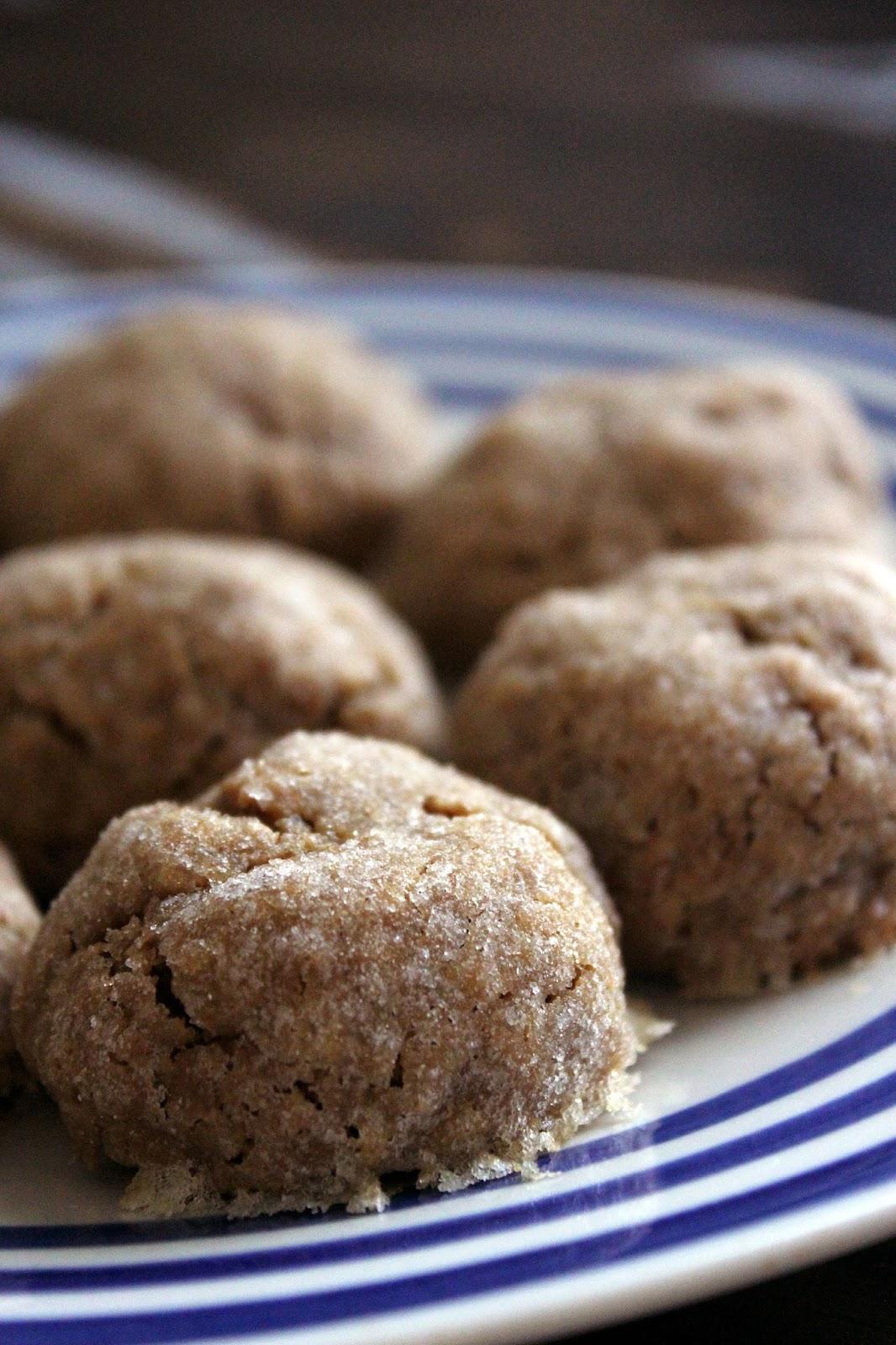 Recipe for Delightfully Dense Peanut Butter Cookies by freshfromthe.com