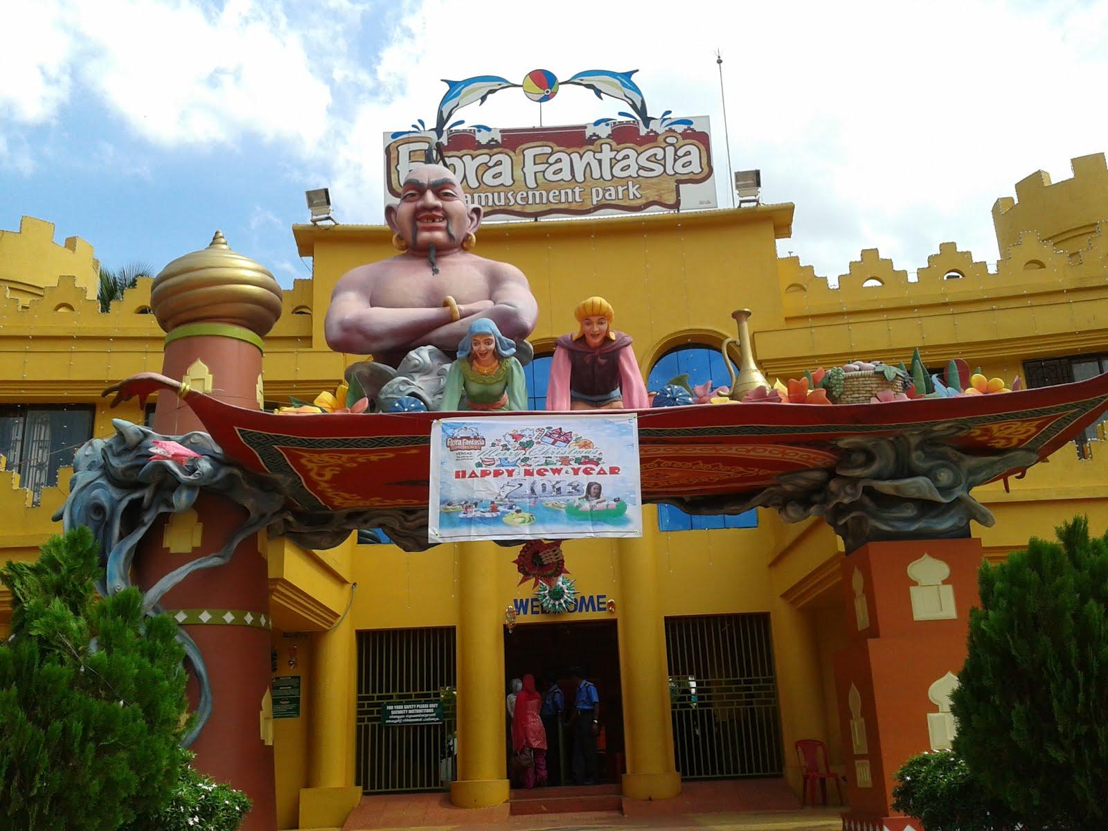 W E L C O M E Quot Flora Fantasia Quot Vengad Amusement Park
