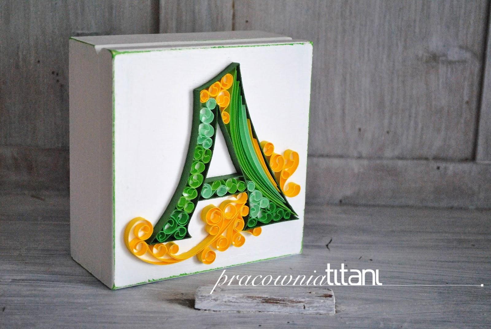Szkatułka z Twoją literą…
