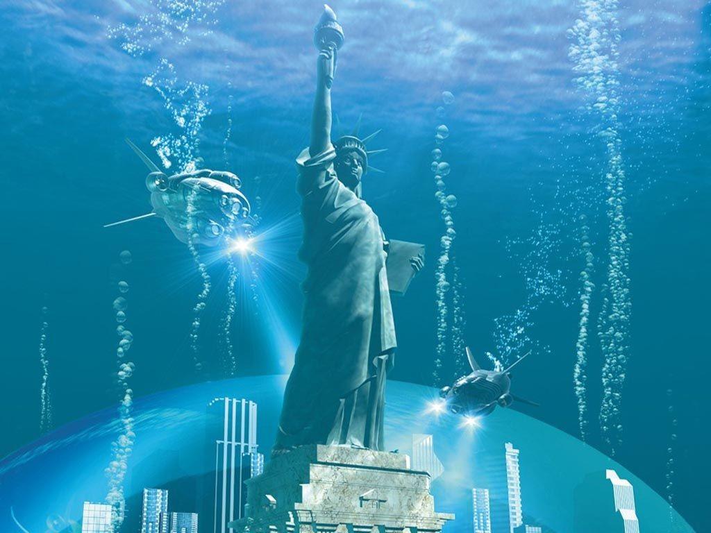 Duken reale por jan vetem skicime 3D 3d-water-wallpapers