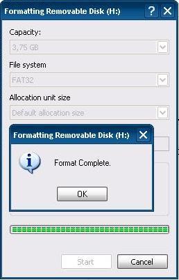how to fix deep format disk error