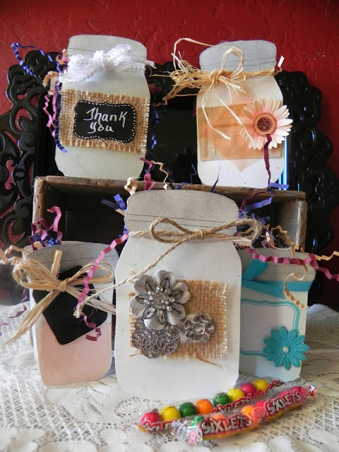 DIY Mason Jar Treat Boxes