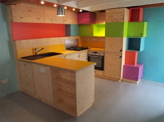 Kitchen multicolor