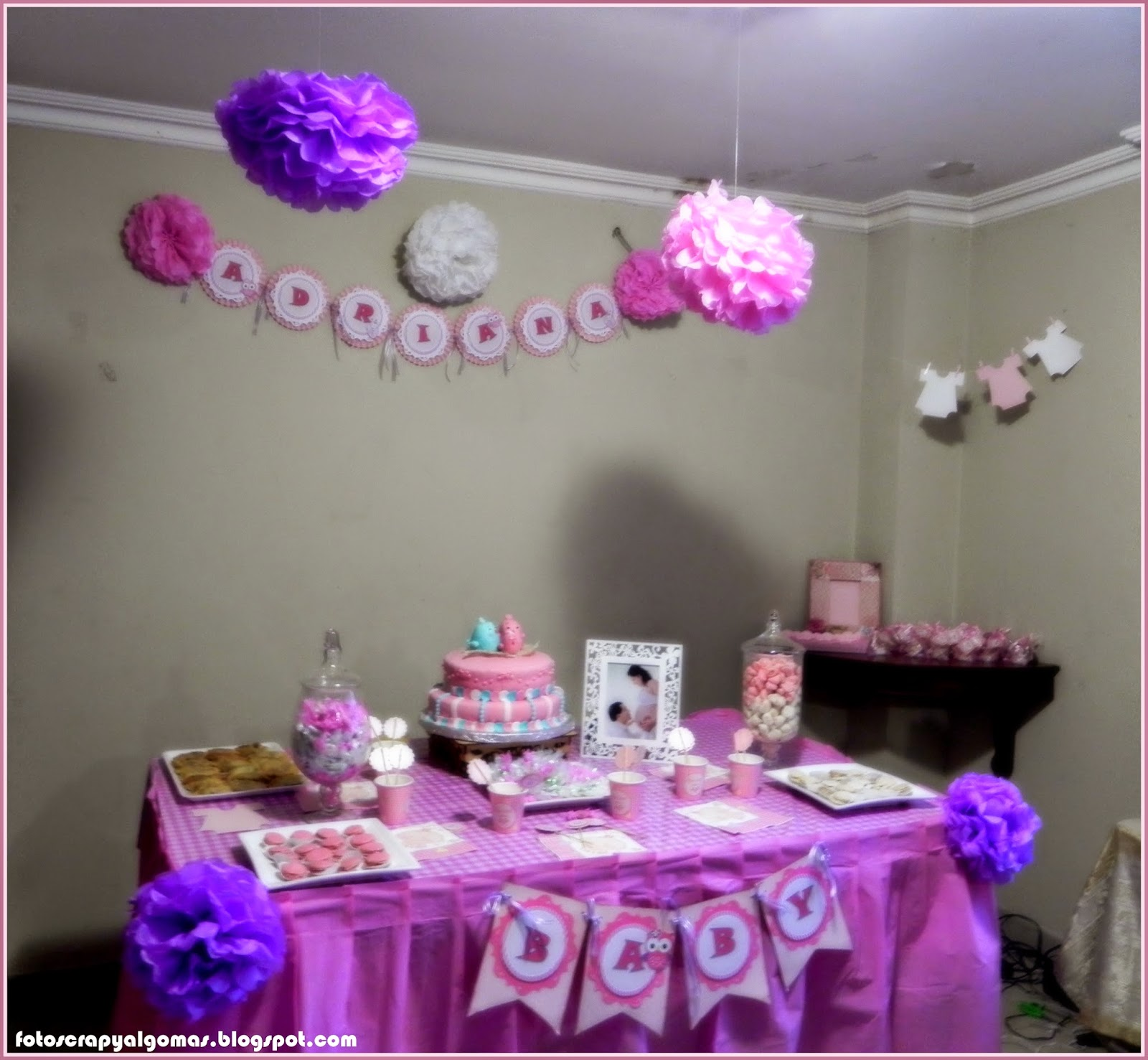 Fotos Scrap y Algo mas Decoraci³n Baby Shower
