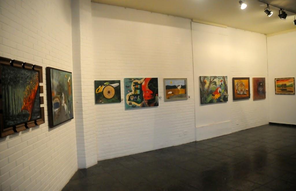 A mostra pode ser vista na galeria da Casa de Cultura de Teresópolis