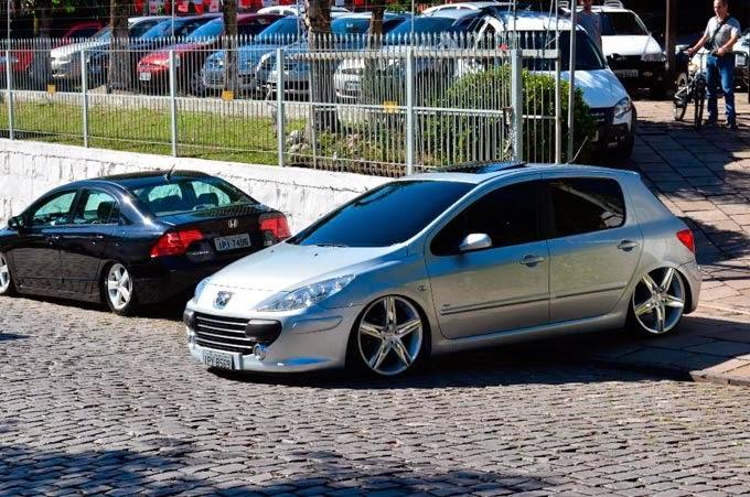 """Peugeot 307 Suspensão a ar rodas 20"""""""