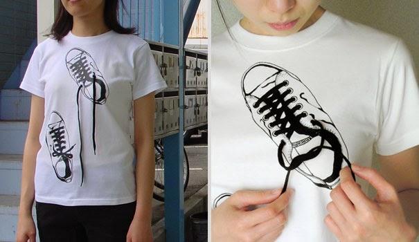 Inilah Kaos Unik Dan Kreatif Hasil Desain Noto Fusai