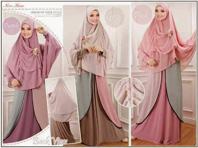 hijab syar'i bahan jersey