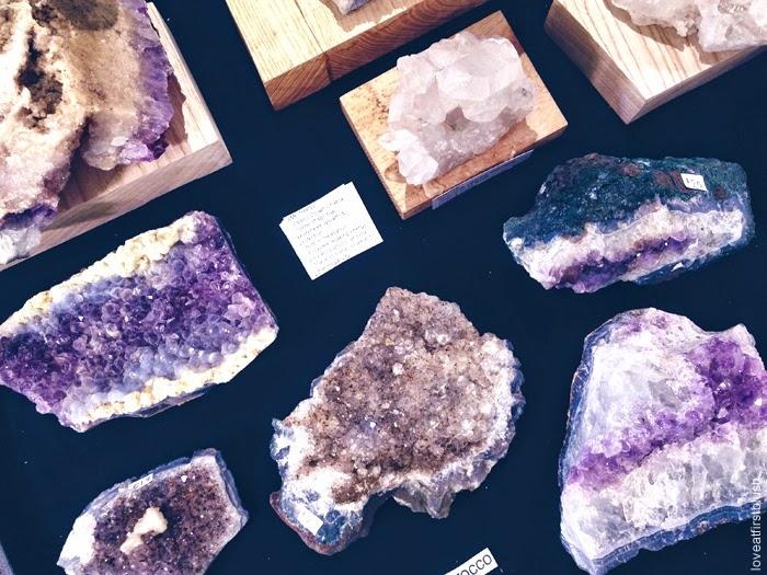 natural amethyst druzy geode gemshow