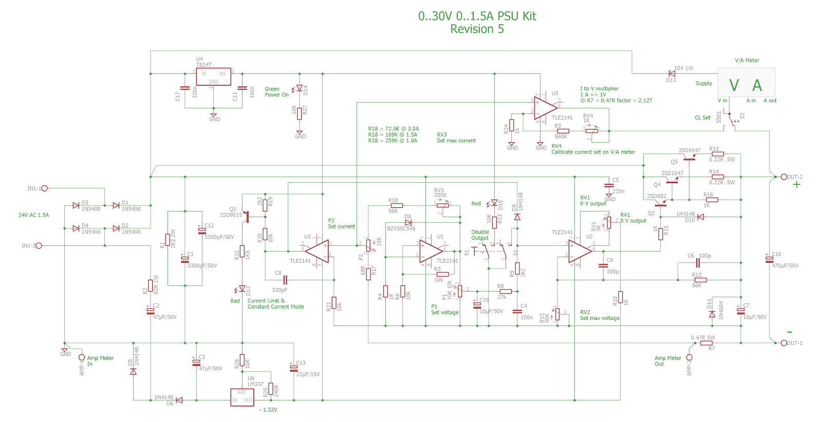 Pauls Diy Electronics Blog Tuning A 030v Dc 03a Psu Kit 24 Vdc Power Supply Schematic The Rise Time Of Is Now About 5msec And Fall Just Over 2 Msec At Maximum Voltage Current Measured With Dynamic Electronic Load