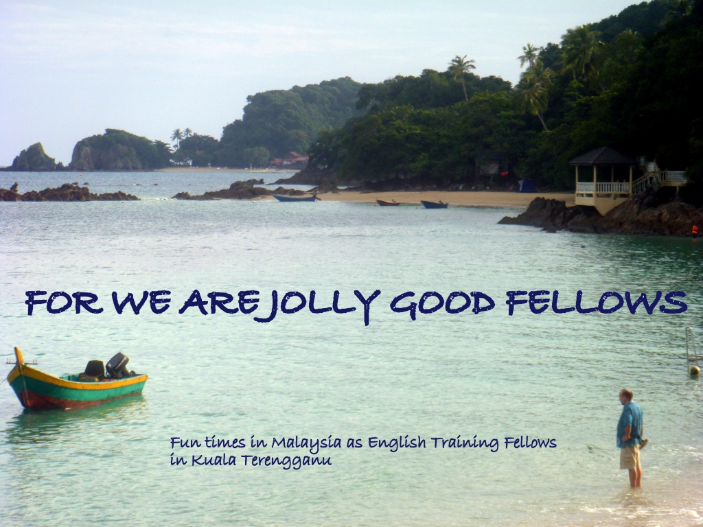 For We are Jolly Good Fellows!