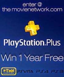 TMN's Free Year of Playstation Plus Membership Giveaway
